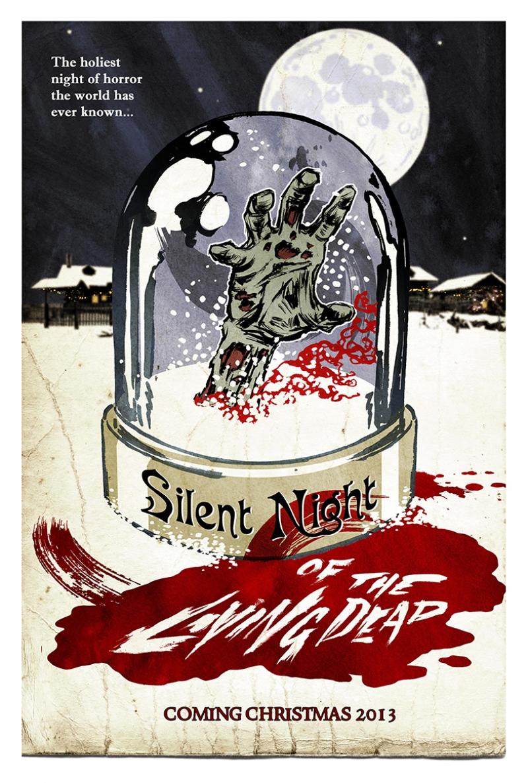 Retro Eski Poster Film Korku-2 Kanvas Tablo