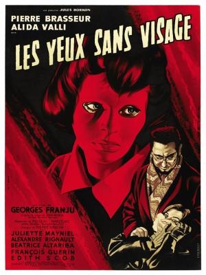 Retro Eski Poster Korku Film Afiş Kanvas Tablo