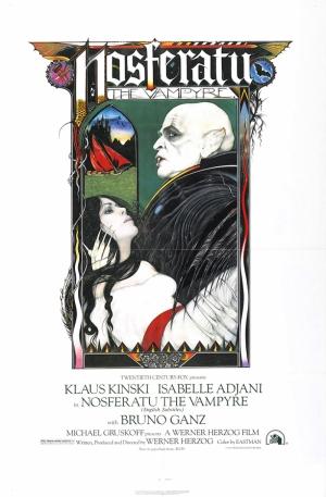 Retro Eski Poster Nosferatu Korku Filmi Çizim Kanvas Tablo
