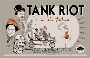 Retro Eski Poster Tank Çizim Kanvas Tablo