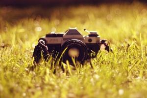 Retro Fotoğraf Makinası 2 Fotoğraf Kanvas Tablo