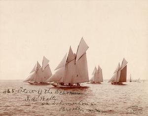 Retro Gemi Fotoğraf Kanvas Tablo