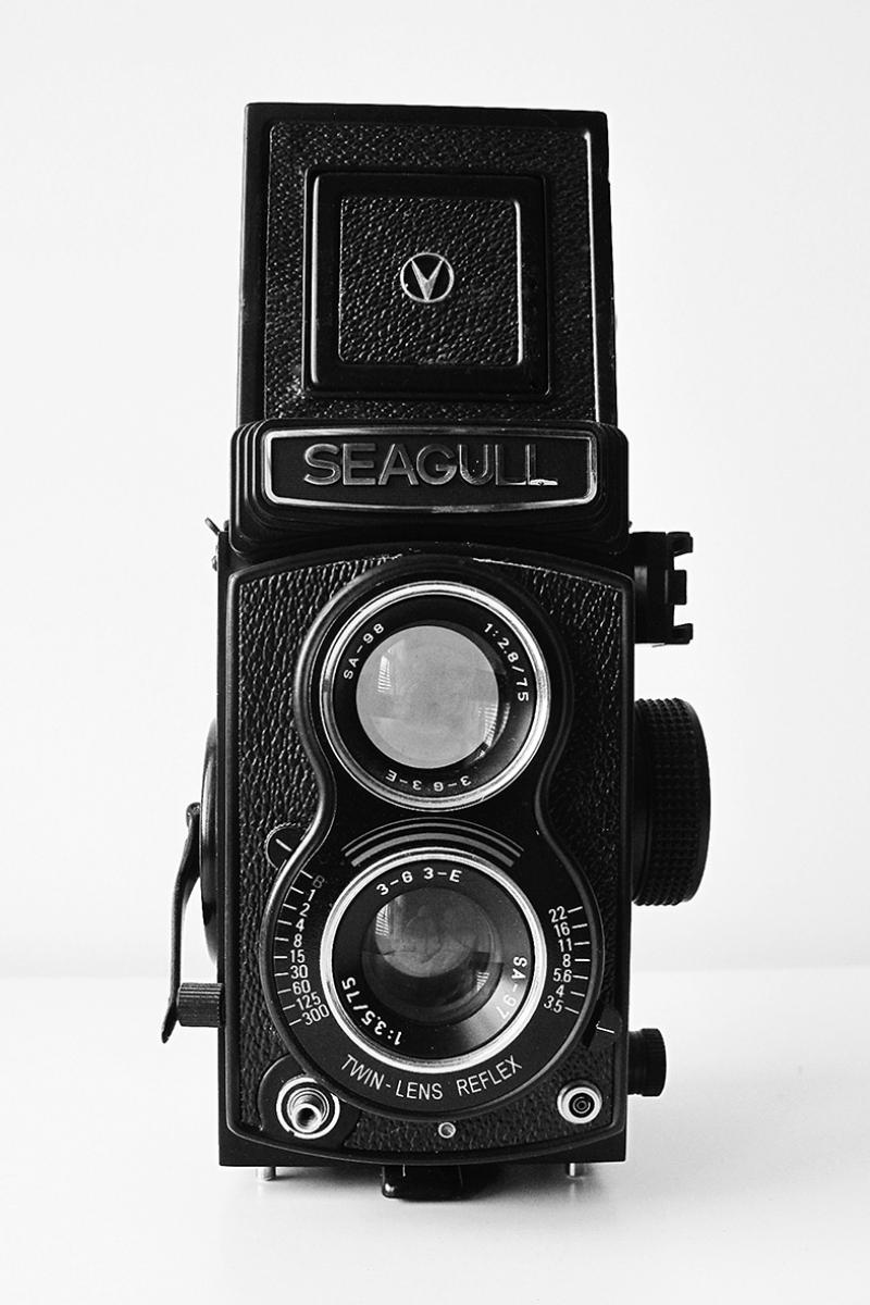 Retro Kamera Fotoğraf Kanvas Tablo