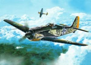 Retro Savaş Uçağı Çizimi Askeri Kanvas Tablo 2