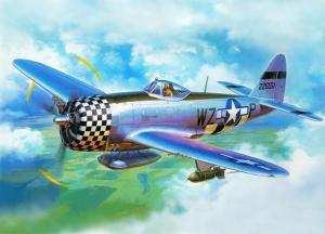 Retro Savaş Uçağı Çizimi Askeri Kanvas Tablo 3