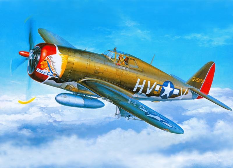 Retro Savaş Uçağı Çizimi Askeri Kanvas Tablo 4