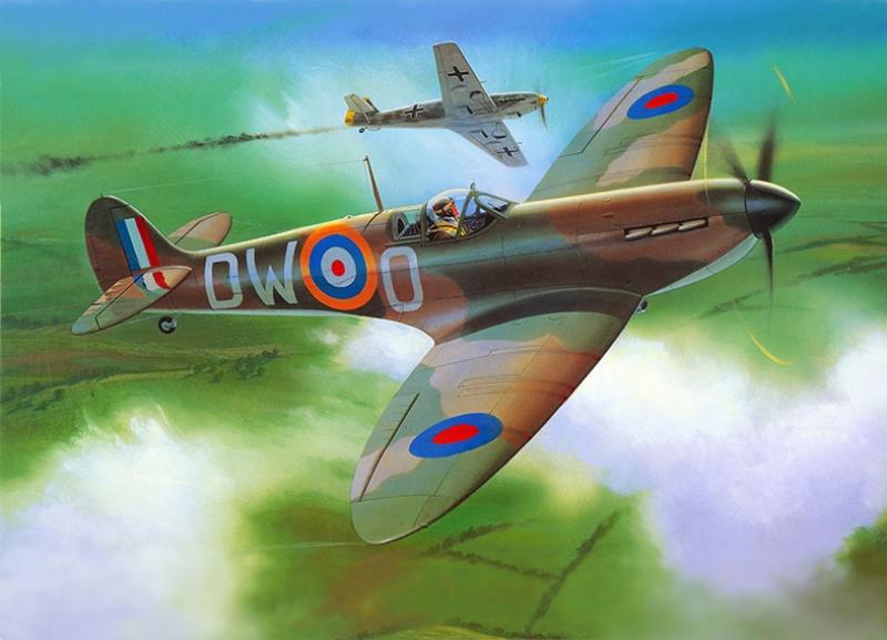 Retro Savaş Uçağı Çizimi Askeri Kanvas Tablo 5