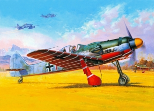 Retro Savaş Uçağı Çizimi Askeri Kanvas Tablo 6