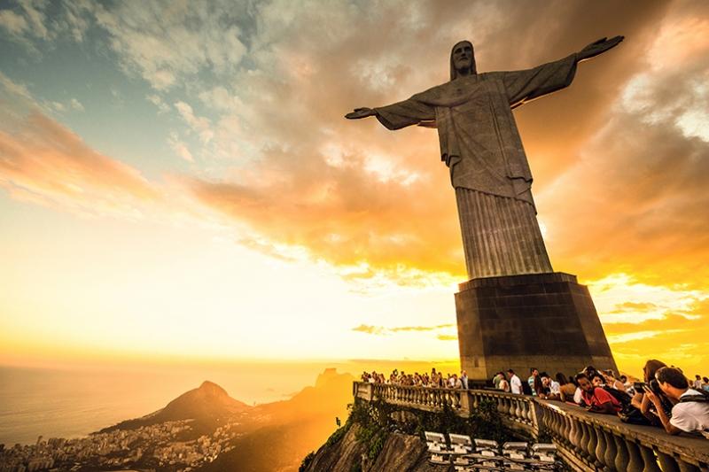 Rio De Janerio 2 Dünyaca Ünlü Şehirler Kanvas Tablo
