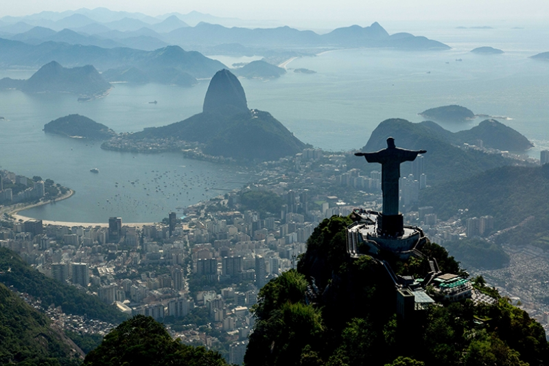 Rio De Janerio Dünyaca Ünlü Şehirler Kanvas Tablo