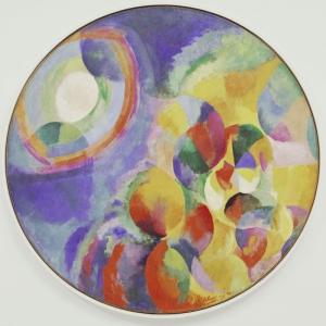 Robert Delaunay Gunes ve Ay Yagli Boya Klasik Sanat Kanvas Tablo