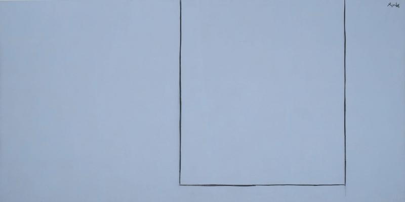 Robert Motherwell Acik Sayi Onyedi Yagli Boya Klasik Sanat Kanvas Tablo