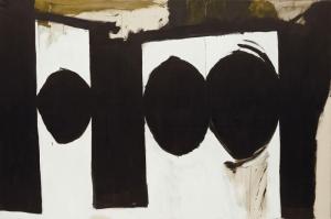 Robert Motherwell Ispanyol Cumhuriyeti 1 Yagli Boya Klasik Sanat Kanvas Tablo