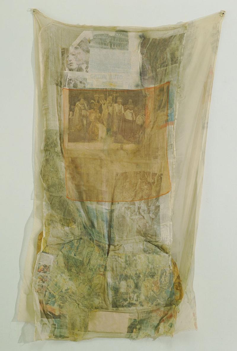 Robert Rauschenberg Mint Yagli Boya Klasik Sanat Kanvas Tablo