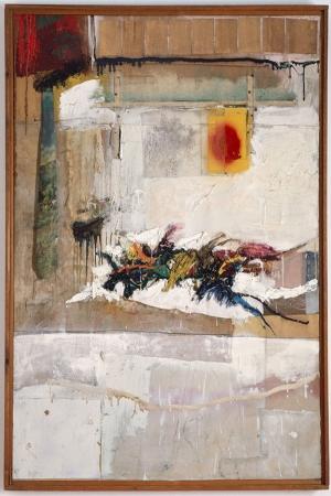Robert Rauschenberg Ritim Yagli Boya Klasik Sanat Kanvas Tablo