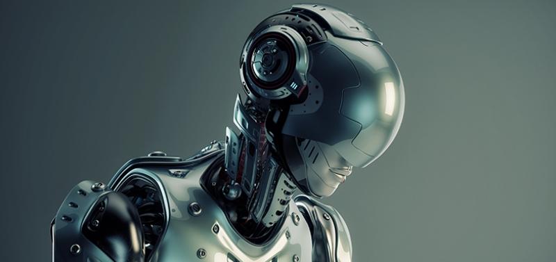 Robot Fantastik Tasarım Mekanik İnsan Kanvas Tablo