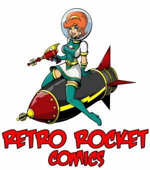 Rocket Comics Retro & Motto Kanvas Tablo
