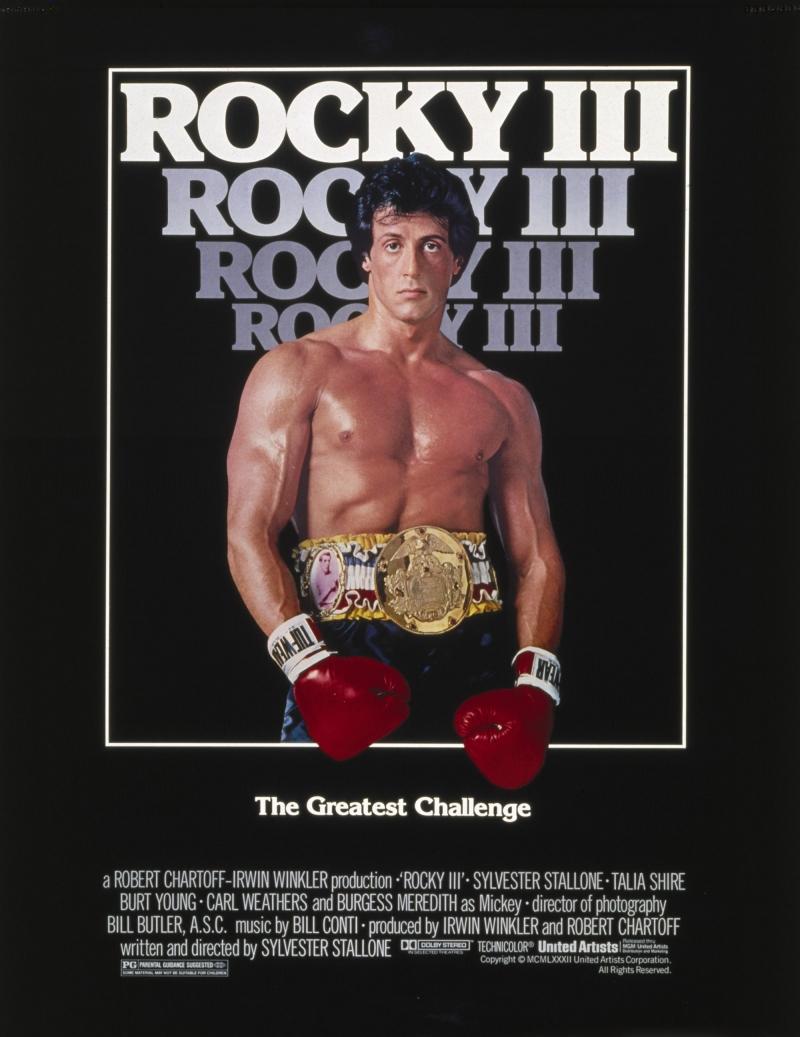 Rocky 3 Afiş Kanvas Tablo