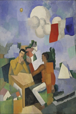 Roger De La Fresnaye Havanin Fethi Yagli Boya Klasik Sanat Kanvas Tablo