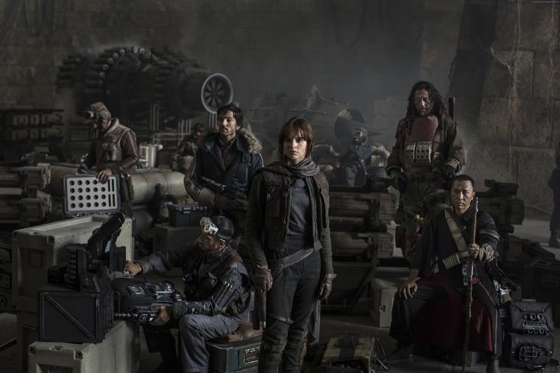 Rogue One A Star Wars Story En İyi Filmler Sinema Kanvas Tablo