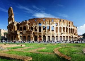 Roma Colezyum Dünyaca Ünlü Şehirler Kanvas Tablo