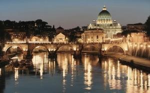 Roma Dünyaca Ünlü Şehirler Kanvas Tablo