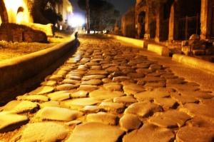 Roma İtalya Şehir Manzarası-5 Dünyaca Ünlü Şehirler Kanvas Tablo