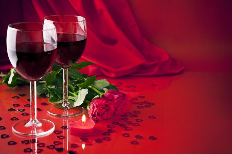 Romantizm Aşk & Sevgi Kanvas Tablo