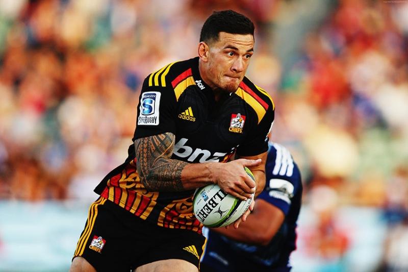 Rugby Sonny Bill Williams New Zealand Spor Kanvas Tablo