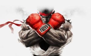 Ryu Street Fighter Popüler Kültür Kanvas Tablo