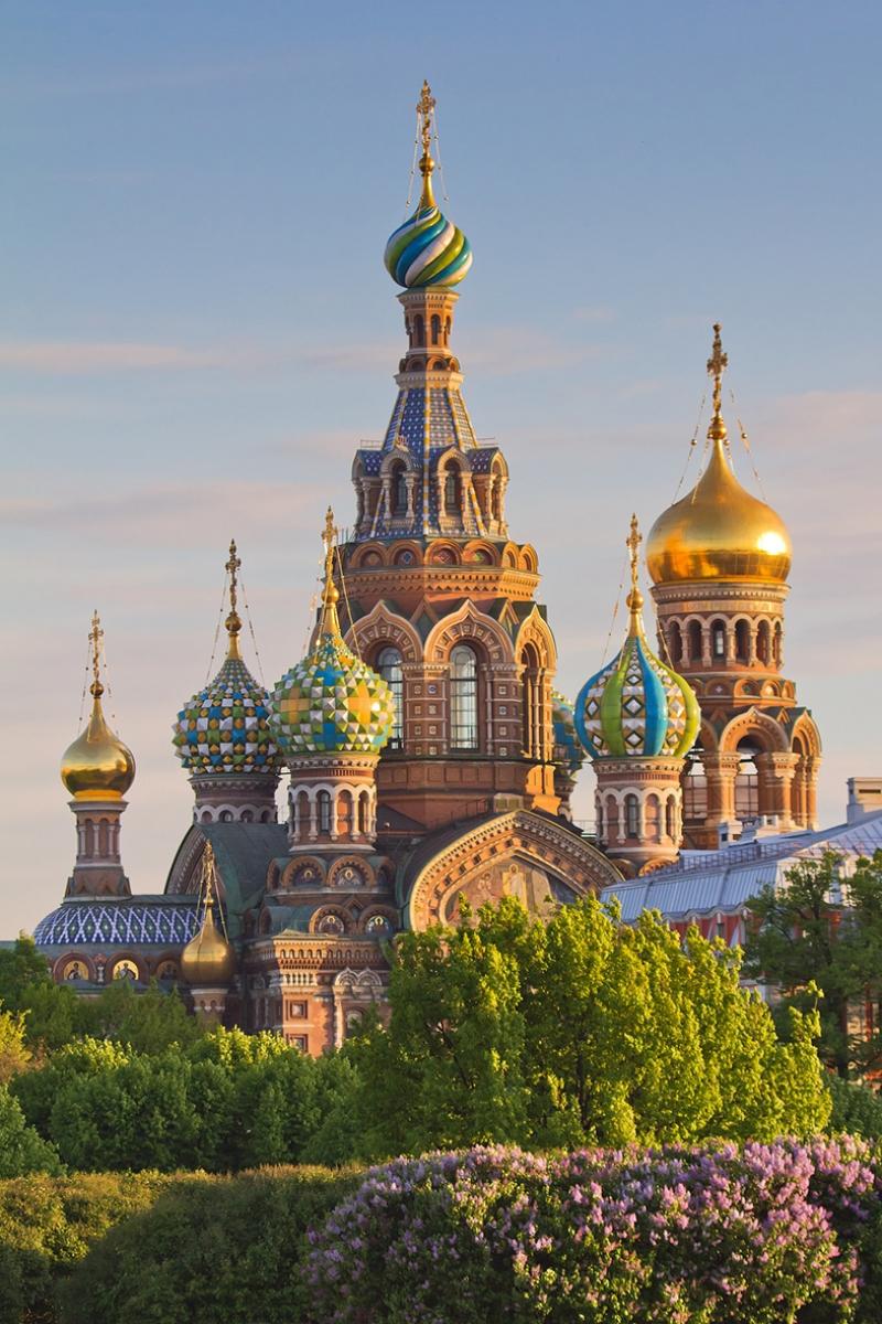 Saint Petersburg Rusya Dünyaca Ünlü Şehirler Kanvas Tablo