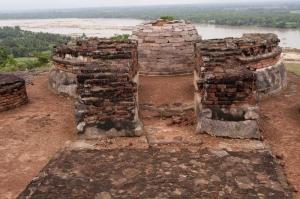 Salihundam Hindistan, Tarihi Budist Tapınakları-2 Dini İnanç Kanvas Tablo