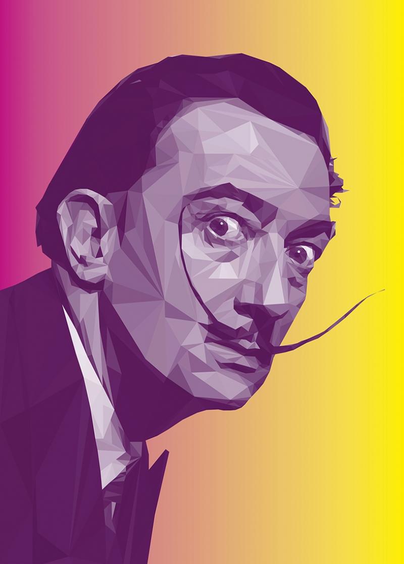 Salvador Dali Popüler Kültür Kanvas Tablo