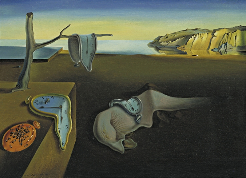 Salvador Dali The Persistence Of Memory Yağlı Boya Sanat Kanvas Tablo
