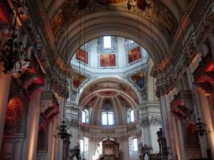 Salzburg Cathedral Unesco Dünya Kültür Mirasları Kanvas Tablo