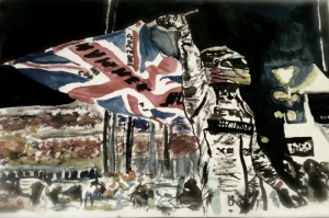 Şampiyon Rallici-1a Modern Sanat Kanvas Tablo