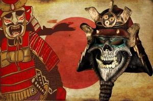 Samuray Maskeleri Japonya, Samuray Maskesi-1 Kanvas Tablo
