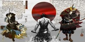 Samuray Maskeleri Japonya, Samuray Maskesi-10 Kanvas Tablo