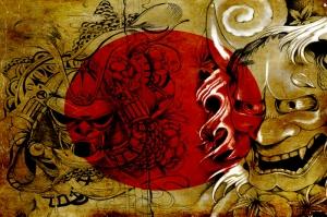 Samuray Maskeleri Japonya, Samuray Maskesi-25 Kanvas Tablo