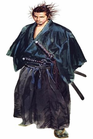 Samuray Savaşçı Maskesi-100 Japonya Modern Sanat Kanvas Tablo