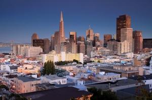 San Francisco 3 Dünyaca Ünlü Şehirler Kanvas Tablo