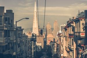 San Francisco Dünyaca Ünlü Şehirler Kanvas Tablo