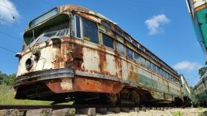 San Francisco Tren Fotoğraf Kanvas Tablo