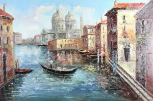 San Marco Basilica di San Marco Venedik İtalya Dekoratif Şehir Manzaraları