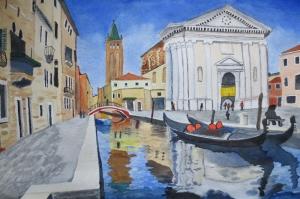 San Marco Venedik İtalya  Dekoratif Deniz, Şehir Manzaraları 2