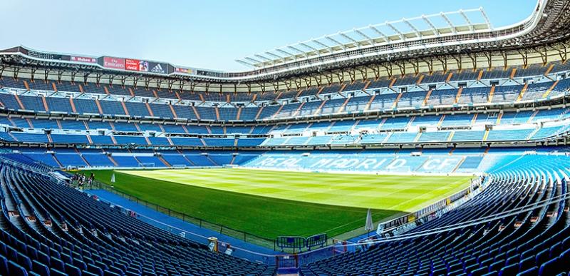 Santiago Barnebeu Stadyumu Real Madrid Spor Kanvas Tablo
