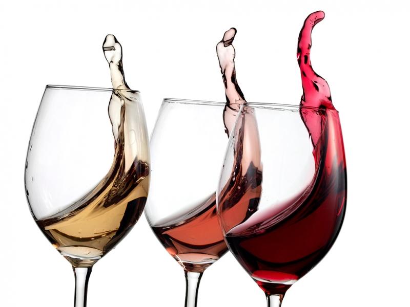 Şarap Çeşitleri Lezzetler Kanvas Tablo