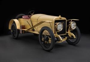 Sarı Klasik Spor Otomobil Kanvas Tablo