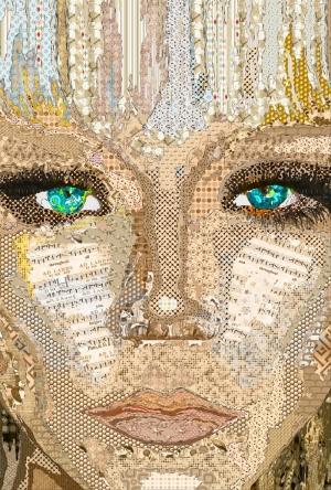 Sarışın Kız Resim Yağlı Boya Sanat Kanvas Tablo