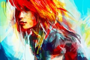 Şarkıcı Dijital Fantastik Kanvas Tablo